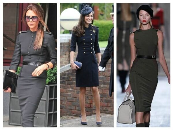 The Dress Military Style Fashion Trends for Women