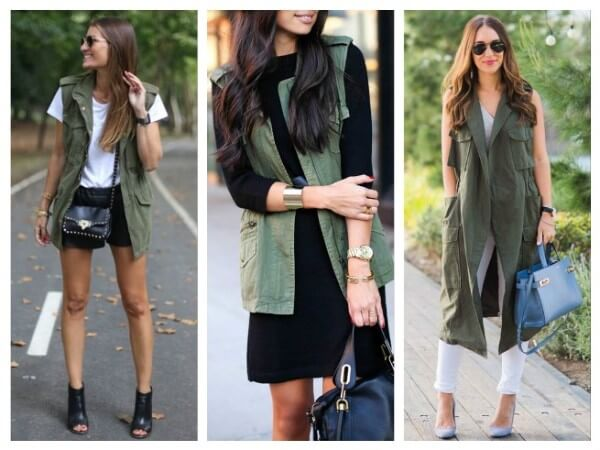 Vest Military Style Fashion Trends for Women