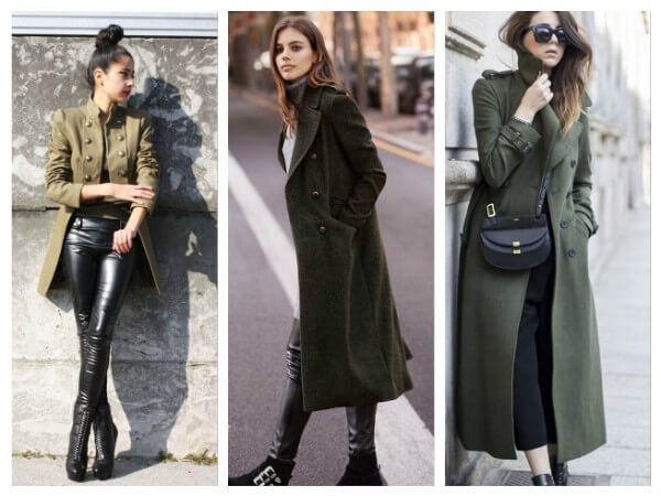 Coat Military Style Fashion Trends for Women