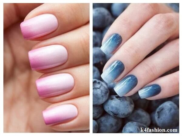 Ombre Nail Art Designs