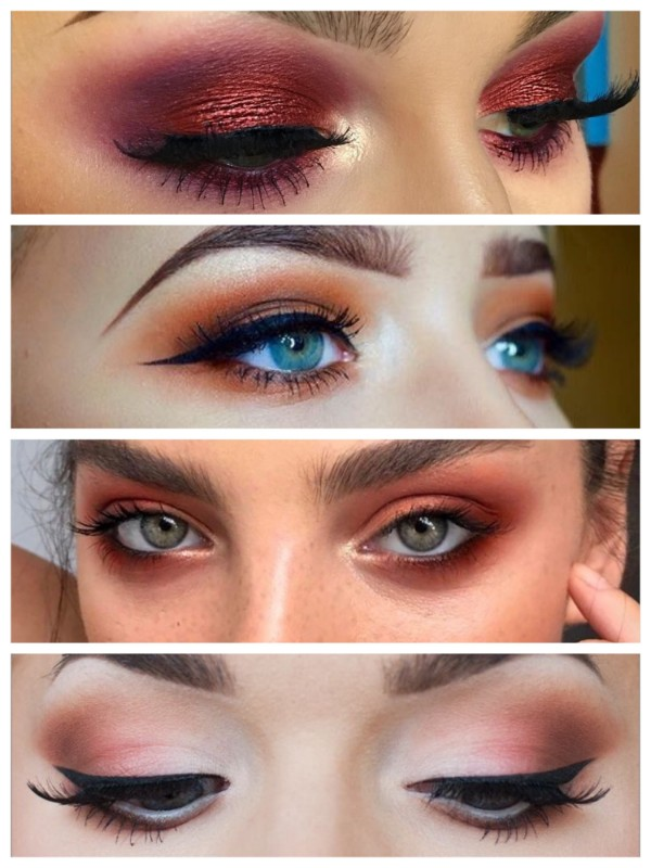 Valentine's Day Makeup Tips Orange and Red Smokey Romantic Makeup To look Fab This Valentine's Day