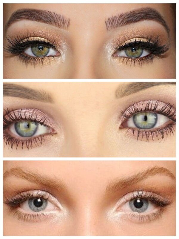 Shimmering shadows Magical Ways To Enlarge Your Eyes With Makeup