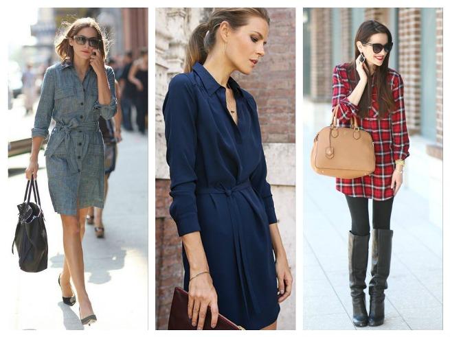 Shirt Dress Fall/Winter Outfits Inspiration for Women