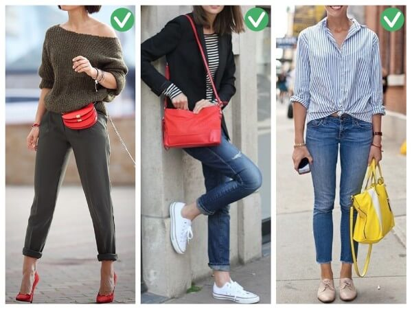 Shoes and Bag Smart Tips On How To Wear Accessories