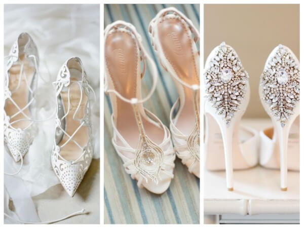 Shoes And Heels Wedding Accessories for Brides: Let's Shop Your Special Day
