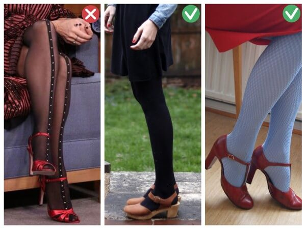 Shoes and Tights Smart Tips On How To Wear Accessories