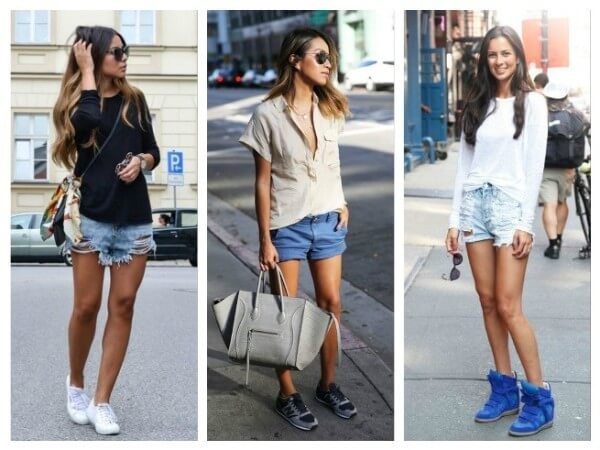 Shorts How To Wear Sneakers Tips for Every Fashion Girl