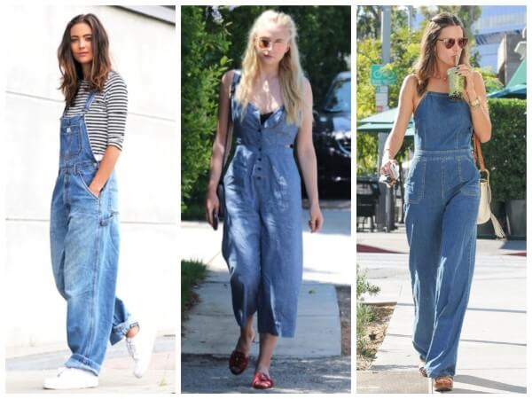Denim Jumpsuit Fashion Things From The 90S :Let's Go Back To Old Days