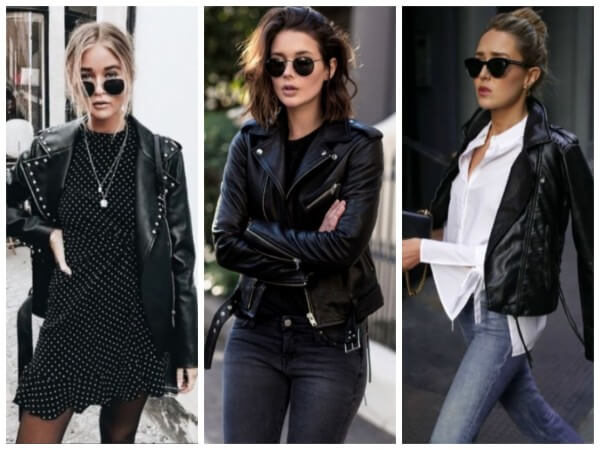 Leather Jacket Fashion Things From The 90S :Let's Go Back To Old Days