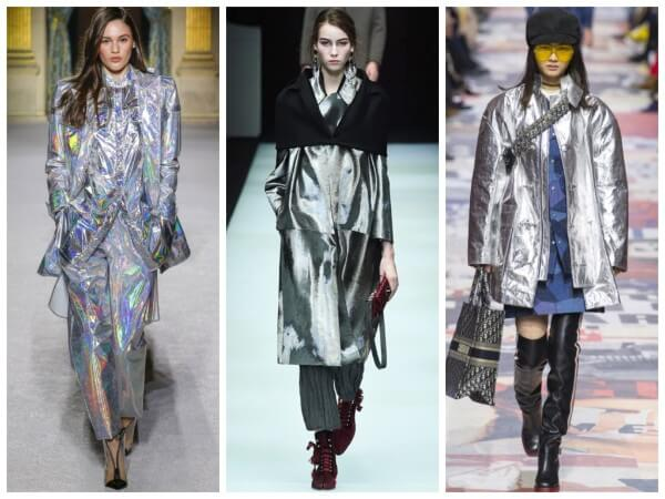 This Autumn-Winter, the Sheen & Holographic is trending for women