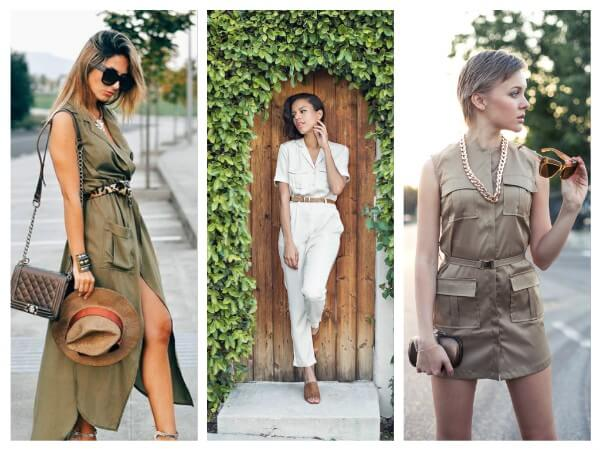 Dresses and Overalls Safari Style Clothing Trends: Let The Journey Begin