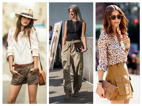 Shorts, Skirts and Pants Safari Style Clothing Trends: Let The Journey Begin