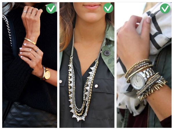 Combination of Gold and Silver Smart Tips On How To Wear Accessories