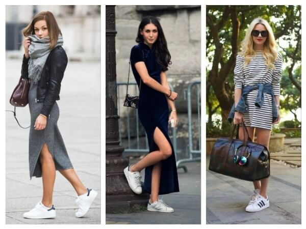 The Dress How To Wear Sneakers Tips for Every Fashion Girl