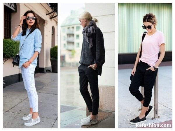 Trousers  Tips to Wear Slip On Shoes for Girls With Different Outfits
