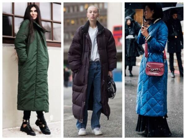 Autumn winter woman elegant long maxi length coat