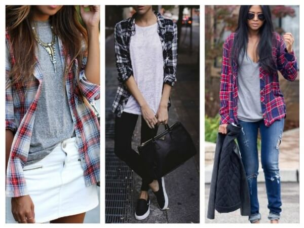 Check Shirt and Top Stylish Ways To Wear Your Check Pattern Shirts