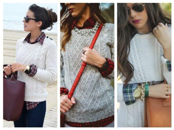 Check Pattern Shirt and Sweater Stylish Ways To Wear Your Check Pattern Shirts