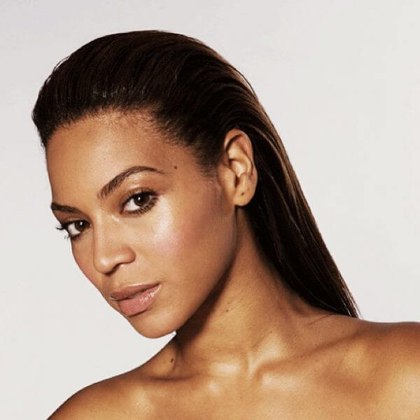 Beyonce impeccable slick back Beyonce's Hairstyles