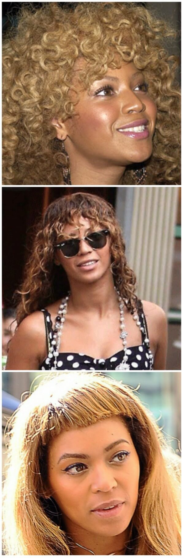 fancy afro curls Beyonce's Hairstyles Beyonce's Hairstyles, Hair Cuts & Colors
