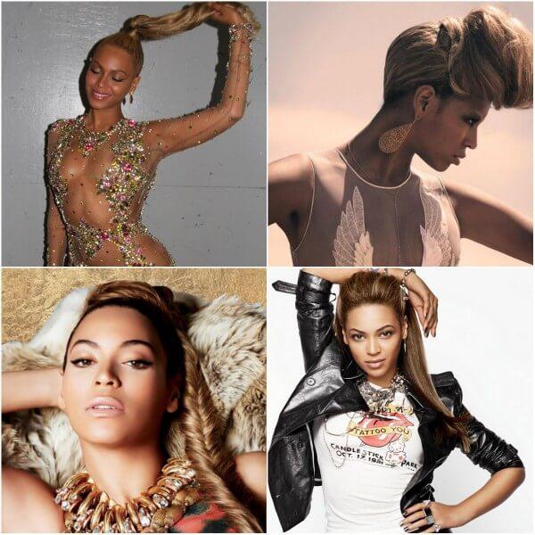 Beyonce hair looks braids, blonde hairstyles Beyonce's Hairstyles, Hair Cuts & Colors