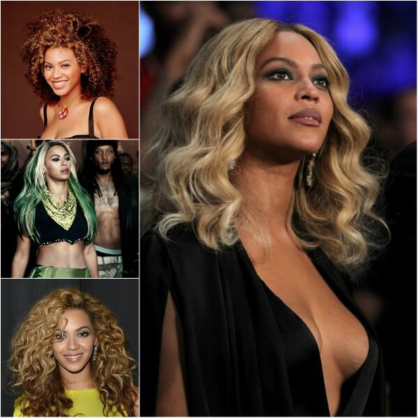 Celebrity Girl Beyonce Haistyles Beyonce's Hairstyles, Hair Cuts & Colors