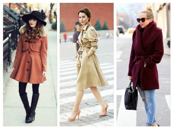 Ideal Coat Models for Pear Shaped Figure This Winter Choose Right Coat According to Your Body Type
