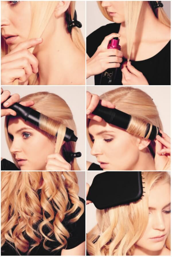 learn how to Curl Your Hairs Step by Step Guide