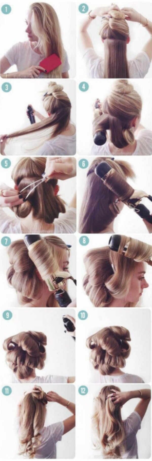 Large Curls learn how to Curl Your Hairs Step by Step Guide