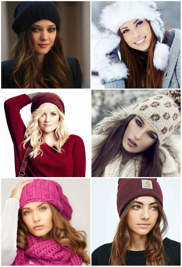 Pretty Hairstyles for Winter Hat & Beanie Hairstyles for Winter Hat & Beanie
