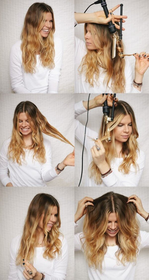 Fine Hair Hairstyles: Beach Waves