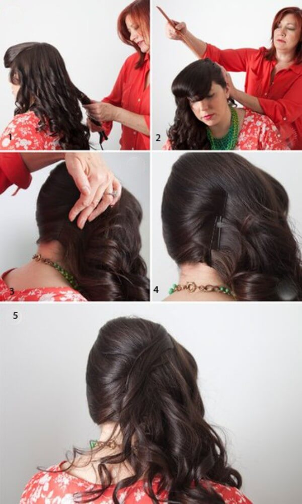 Hairstyle On The Side (Step by Step Tutorial)