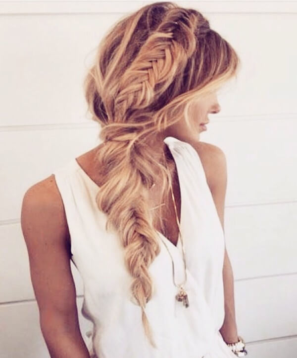 braid hairstyle  Easy Hairstyles for Fine Hairs to Make them Look Thicker