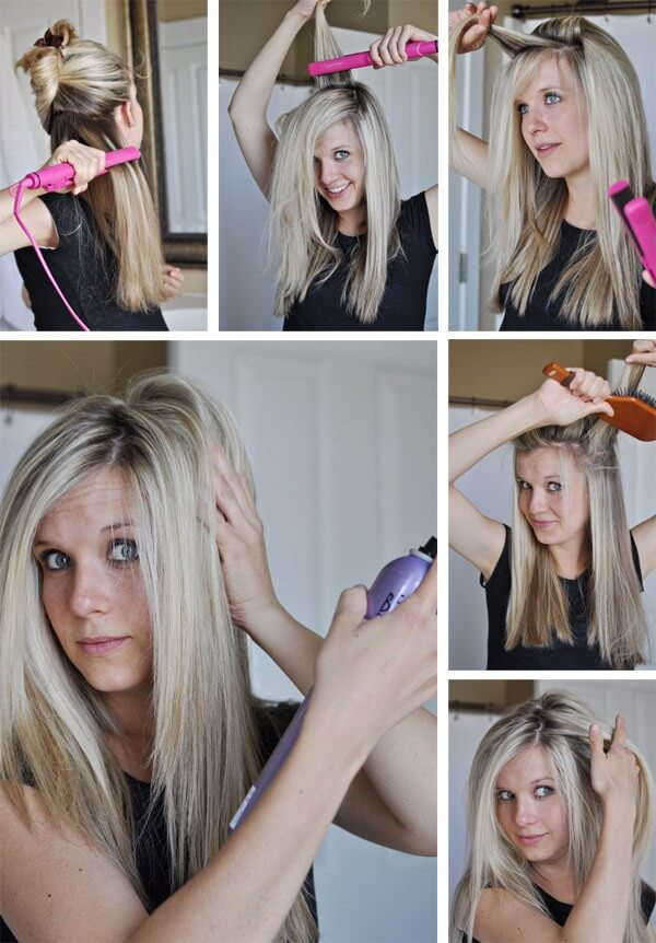 Don't Forget Your Roots Easy Hairstyles for Fine Hairs to Make them Look Thicker