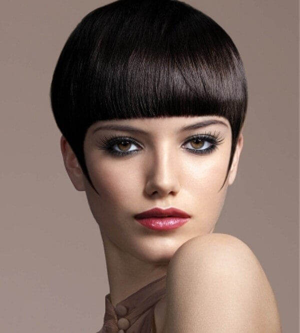 Sexy Vamp Hairstyles Inspired from Hollywood Ultra-Short Haircut