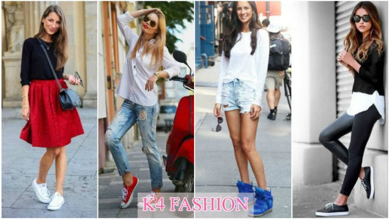 How To Wear Sneakers Tips for Every Fashion Girl