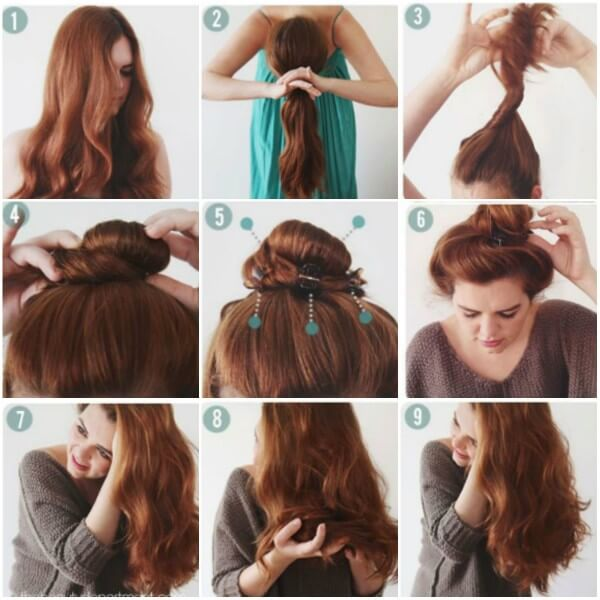 Twist your hair and make a knot on the top, use clature and get soft natural curls