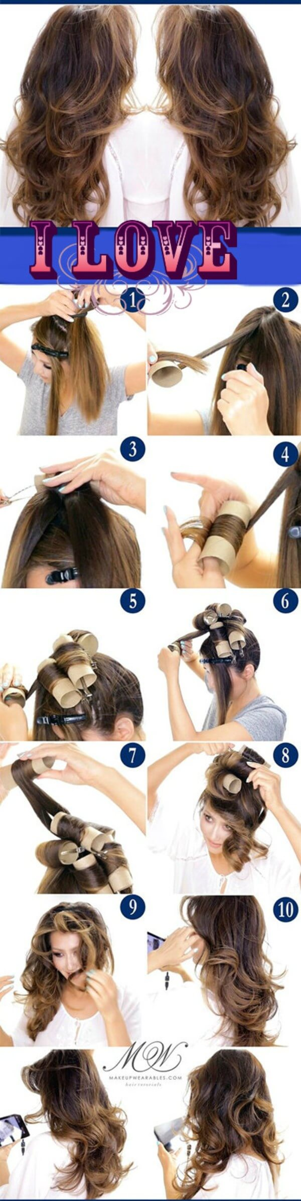 Curl your hair without heat tips use cold rollers and get natural curls