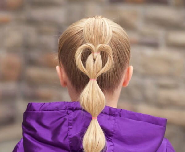 Confess Your Love With This Hairstyle, tutorial , long hair, wedding, party
