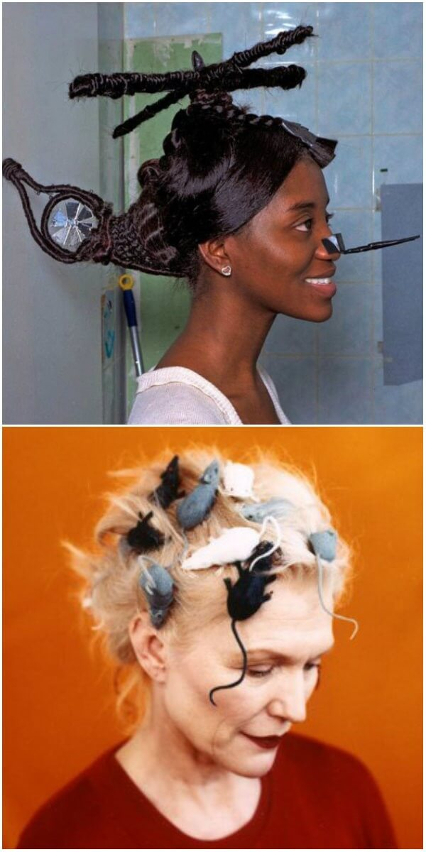 Cool things to do to your hair like helicopter and rat hairstyle