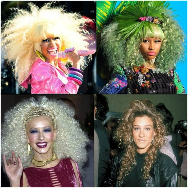Celebrity like Nicki Minaj, Christina Aguilera most unfortunate hairstyles