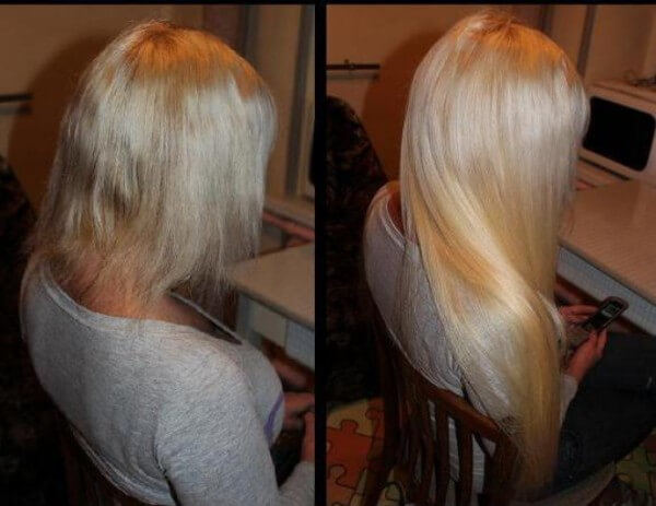 Use hair extensions to make your hair thicker
