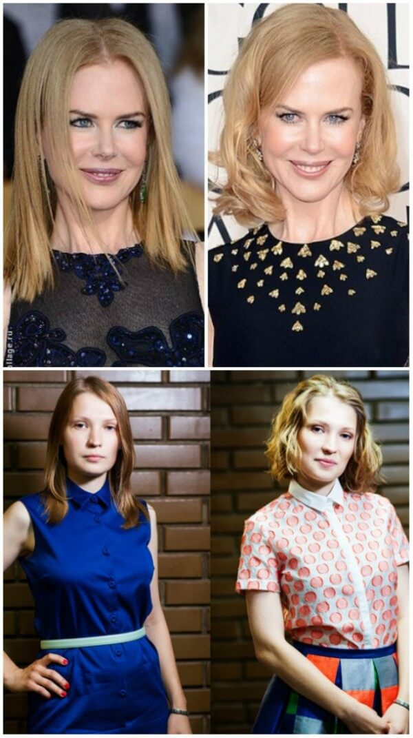 Australian-American actress, singer Nicole Kidman's different ways to make your hair visually thicker