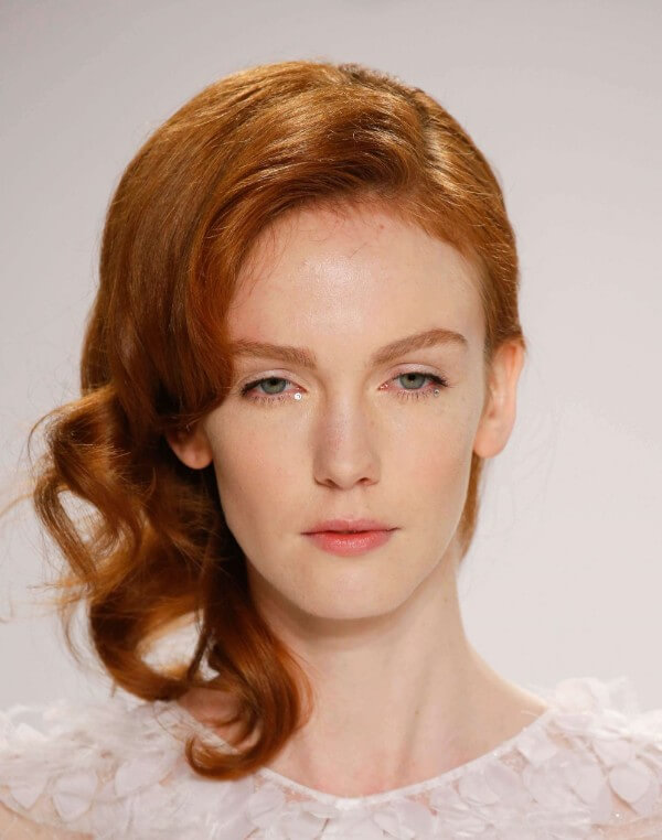 Curls where they weren't Trending Bridal Hairstyles For Long & Short Hairs