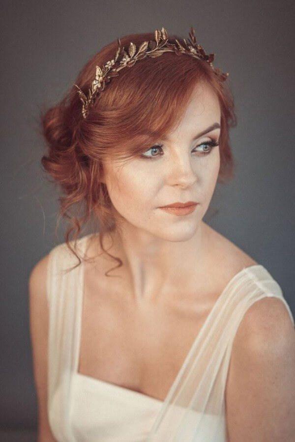 Greek Hairstyles - Relevant And Fashionable Trending Bridal Hairstyles For Long & Short Hairs