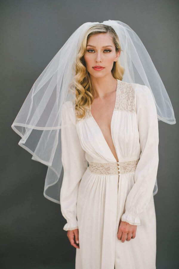 Trending Bridal Hairstyles For Long & Short Hairs Curls where they weren't