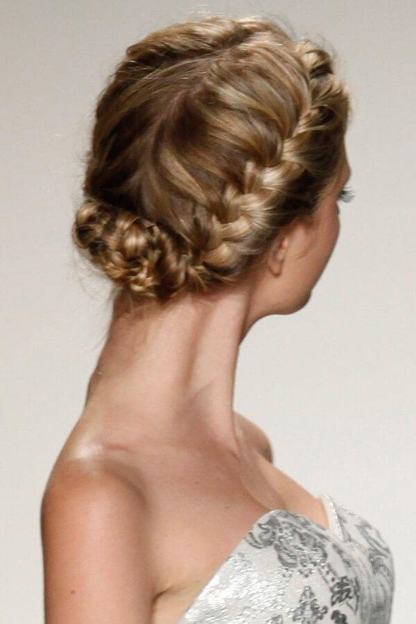 Trending Bridal Hairstyles For Long & Short Hairs Half Up Half Down With Braid Hairstyle -A Lot And Very Different