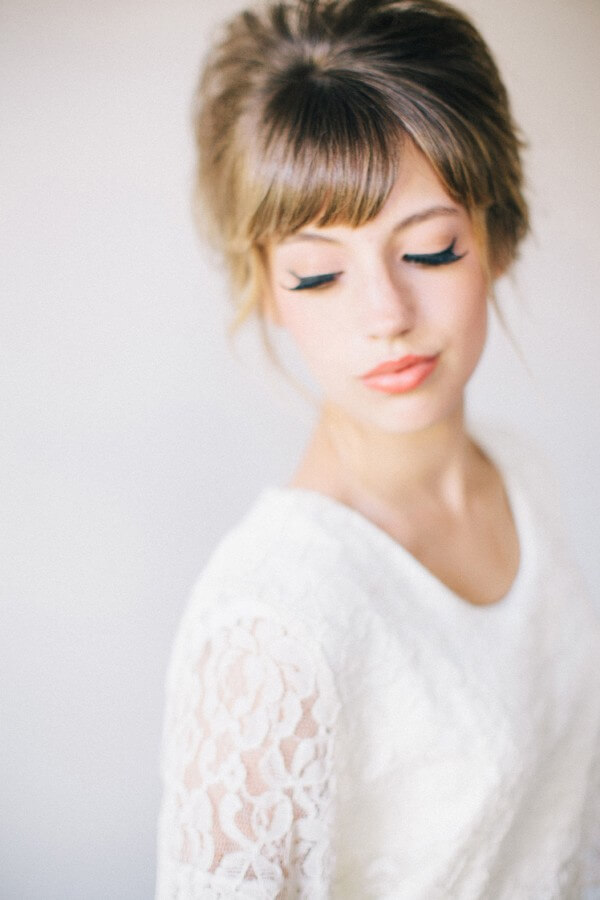 Trending Bridal Hairstyles For Long & Short Hairs High Hairstyle From Curls-Feel Like A Princess