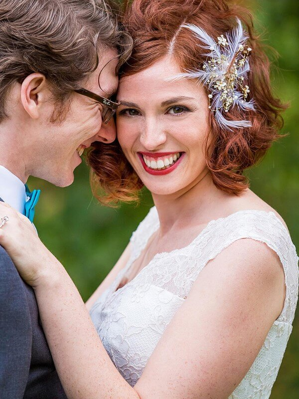 High Hairstyle From Curls-Feel Like A Princess Trending Bridal Hairstyles For Long & Short Hairs