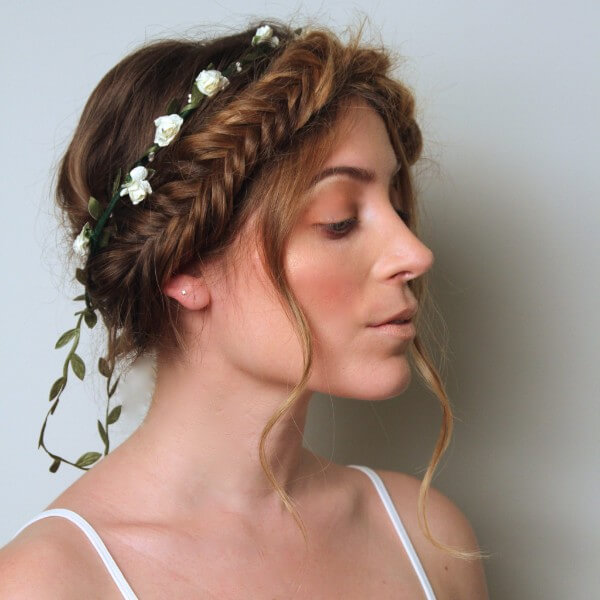 No Just Braids Trending Bridal Hairstyles For Long & Short Hairs